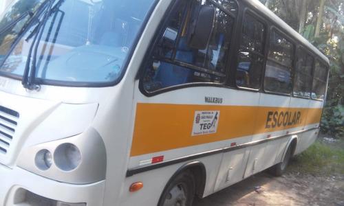 micro ônibus walkbus vw9150 2006/06 01p. 44l escolar aurovel
