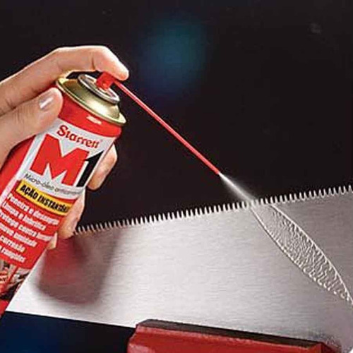 micro óleo anti-corrosivo starrett lata com 300 ml - m1-215