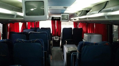 micro ómnibus scania 420 - marcopolo 2006 - 60 pax semi-cama