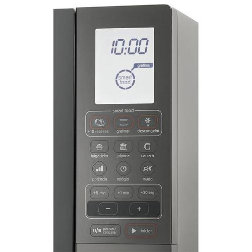 micro-ondas brastemp 30 litros com função grill 220v