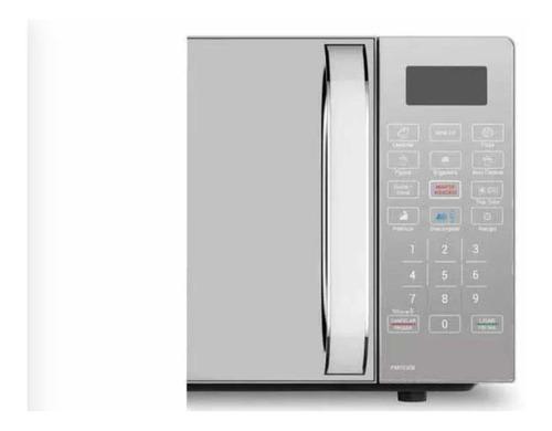 micro-ondas philco com 20 litros de capacidade, branco