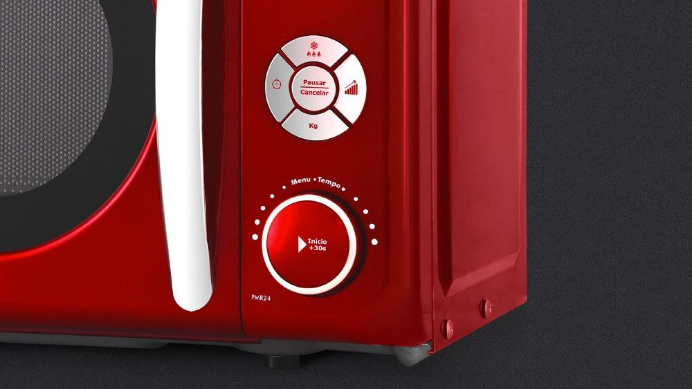 98bbc02ed Micro-ondas Retrô Philco Premium