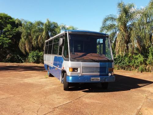 micro onibus - caio modelo carolina iv, motor mercedes benz