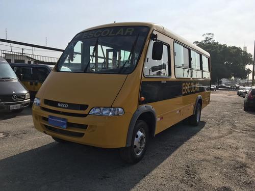 micro onibus iveco city class 30lugares escolar