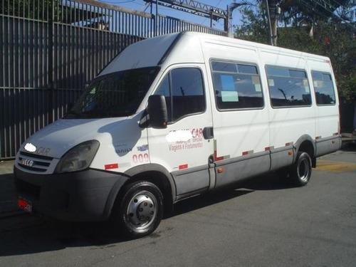 micro onibus iveco daily 2008 20 lugares ar condicionado.