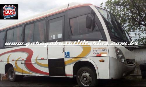 micro onibus maxbus ano 2009 completo barato ref612