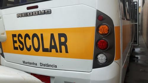 micro onibus neobus 2005 - escolar - pronta entrega