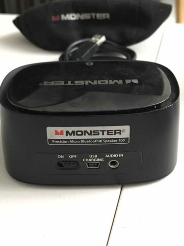 micro parlante monster clarity hd