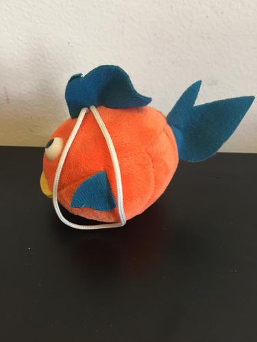 micro peixe peixinho pelúcia - 5cm de diâm. - p/ pendurar