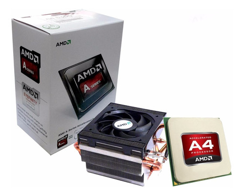 micro procesador amd apu a4 6300 3.7ghz fm2 pc
