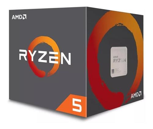 micro procesador amd ryzen 5 2600 3.9ghz 6/12 box pc gamer