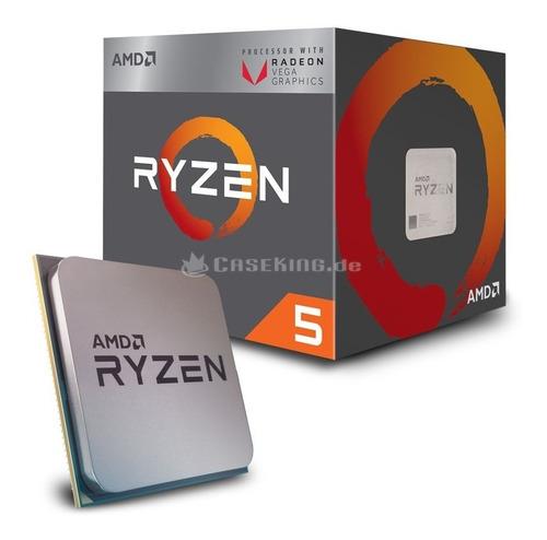 micro procesador amd ryzen 5 3400g 4.2ghz am4 rx vega