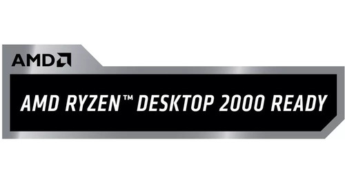 micro procesador amd ryzen 7 2700x 3.7ghz 8 cores led cooler