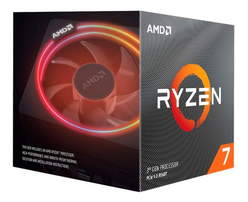 micro procesador amd ryzen 7 3700x 4.4 ghz am4  4