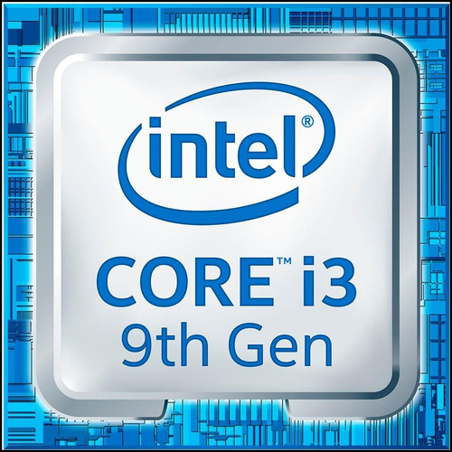 micro procesador cpu intel core i3-9100f 1151 9th gen gamer