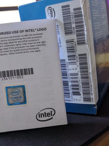 micro procesador i5 7600