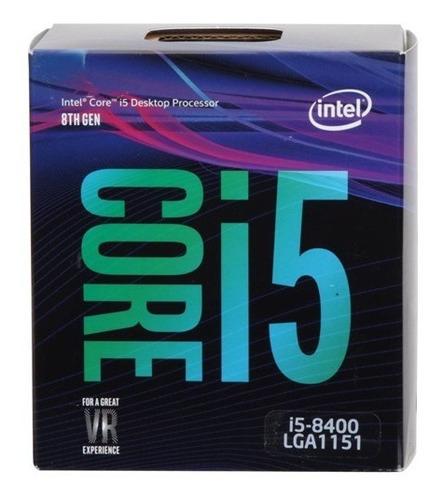 micro procesador intel core i5 8400 4.0ghz 6 core coffe lake