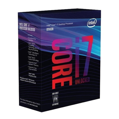 micro procesador intel core i7 8700 coffee lake