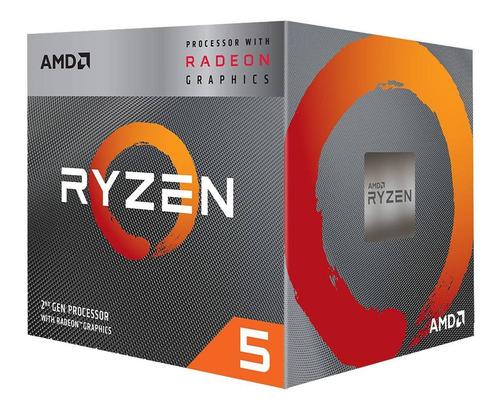 micro procesador ryzen 5 3400g 4.2ghz amd am4 graficos vega