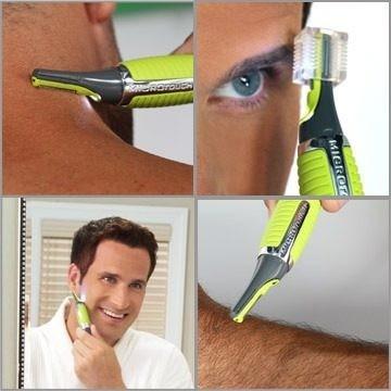 Micro Rasuradora Tipo Pluma Con Accesorios Para Barba Bigote ... 5b39f7564766