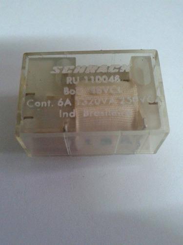 micro rele schrack 1 contato ru110048