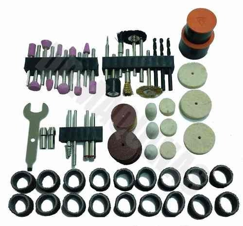 micro retifica com 113 peças black decker rt18ka