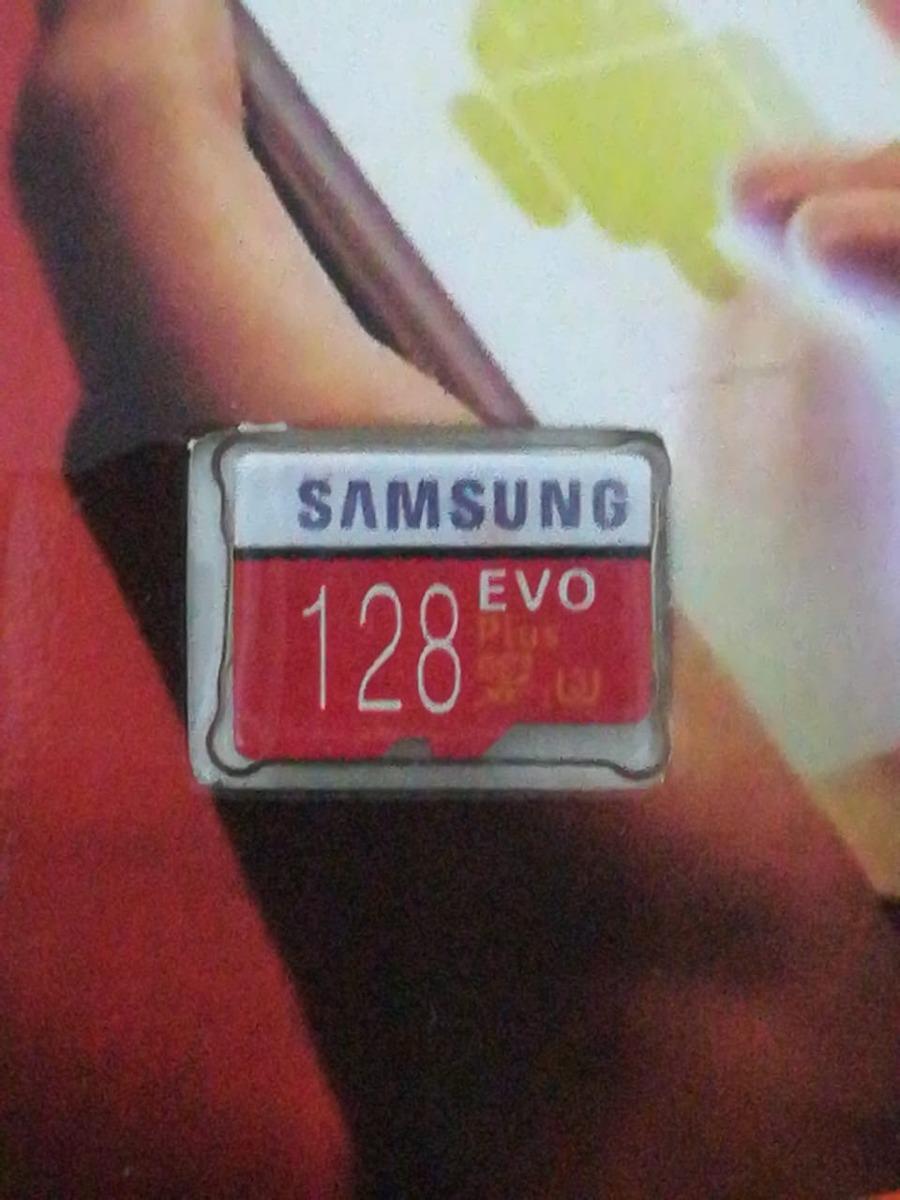 Micro Sd 128 Gb Samsung Evo Plus Clase 10 Ultra Rapida Nueva Cargando Zoom