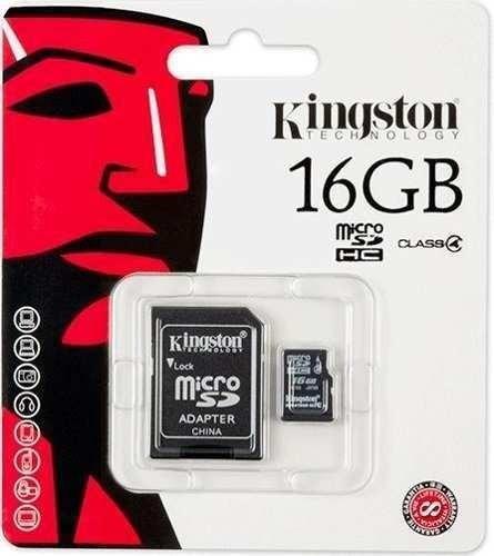 micro sd 16gb kingston + adaptador usb ** frete grátis**