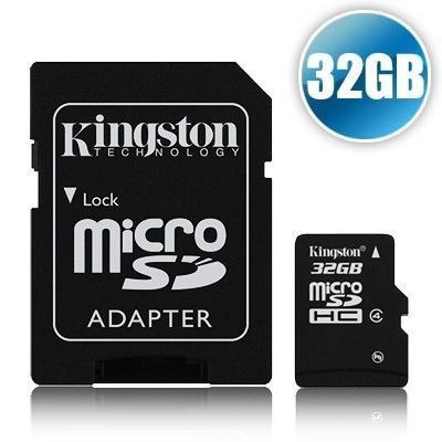micro sd 32 gb kingston nuevas selladas