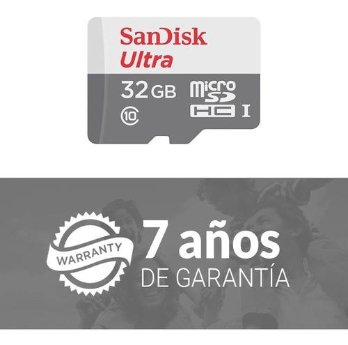 micro sd 32gb memoria clase 10 memoria sandisk ultra celular