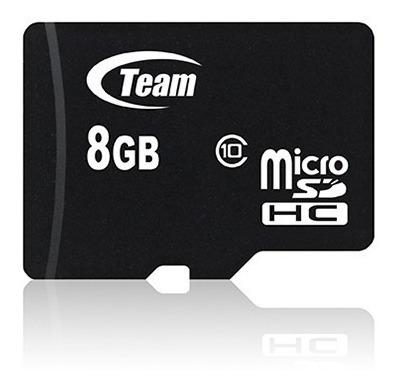 micro sd 8 gb clase 10 team - garantía x vida