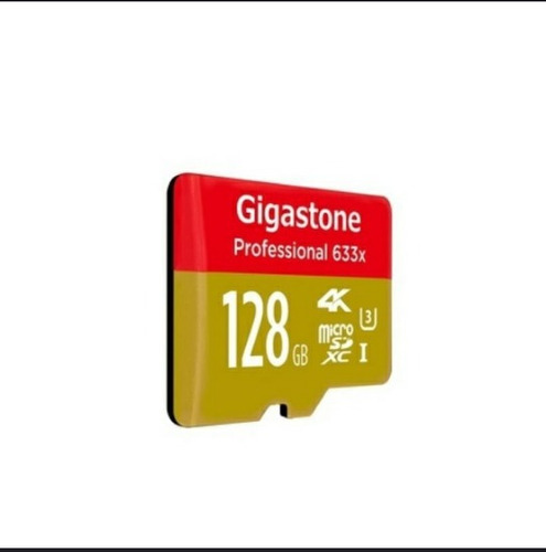 micro sd gigastone pro tarjeta de 128gb u3 4k hasta 95mb/s