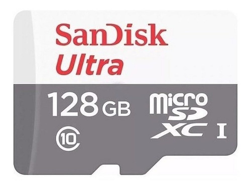 micro sd sandisk 128gb clase 10 celular tablet memoria