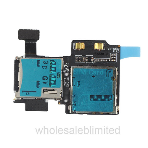 micro sd sim card tray slot holder flex ribbon para samsung