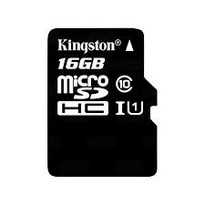 micro sdhc 16gb memoria kingston