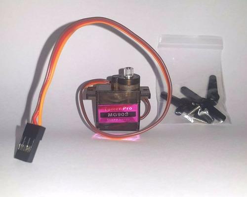 micro servo mg90s tower pro arduino metal