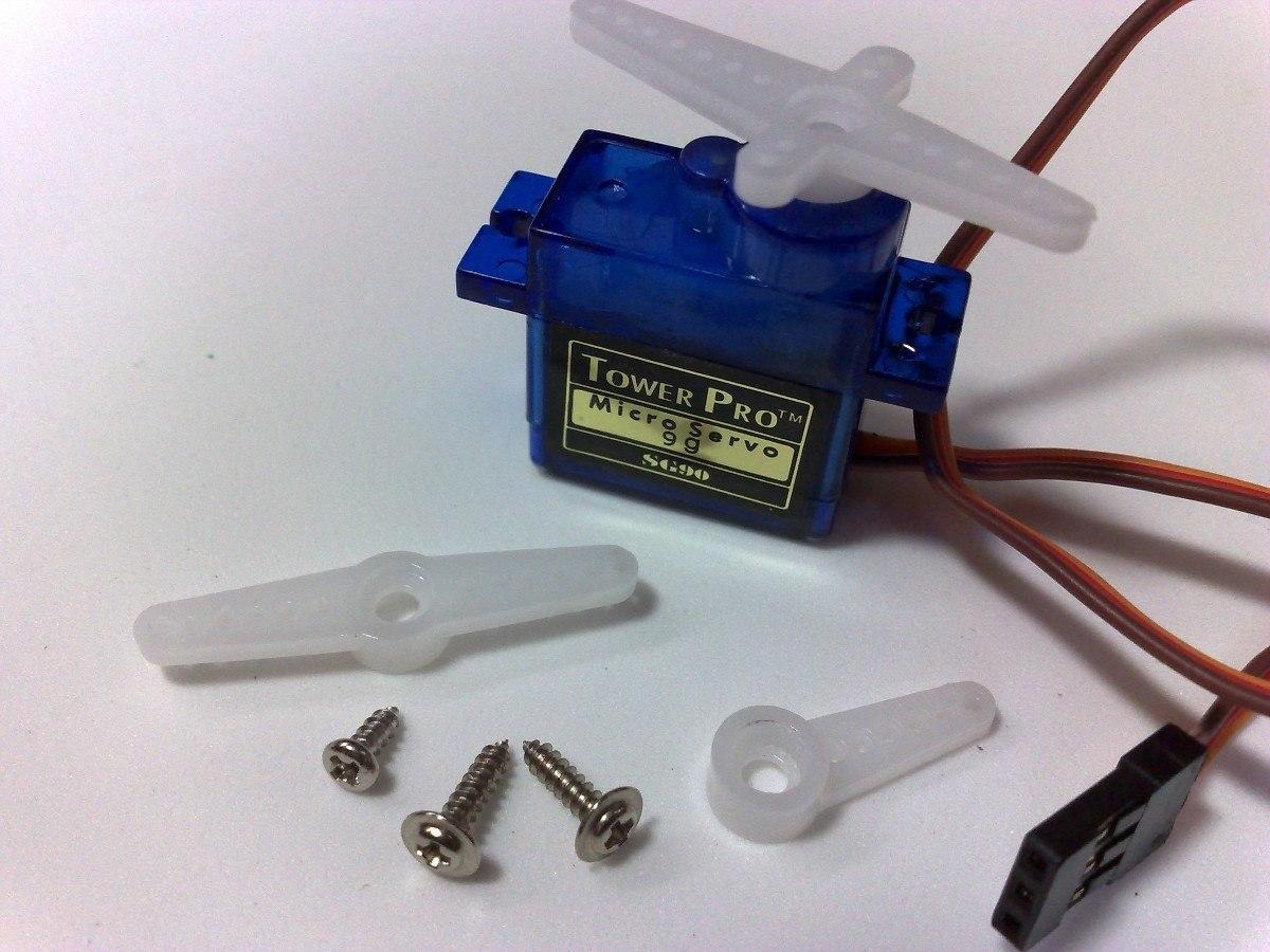 Micro servo tower pro sg 90 s9 para arduino e modelismo for Micro servo motor arduino