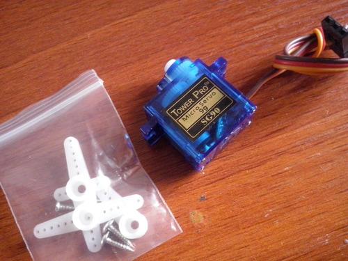 micro servomotor tower pro 9g nuevos y originales!!!
