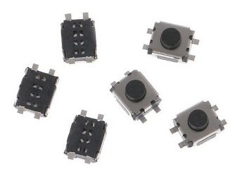 micro switch boton pulsador smd 3x4x2mm 4 pines(10 unidades)
