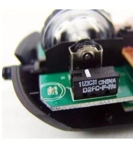 micro switch omron d2fc-f-7n 10m para mouse gamer 5 peças