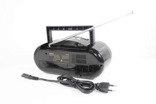 micro system  fm  mp3 bombox bluetooth  usb  card  portátil