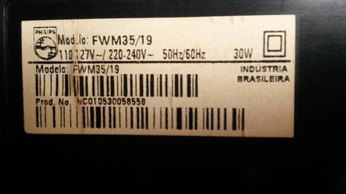 micro system philips fwm35/19 (com defeito tirar peças)