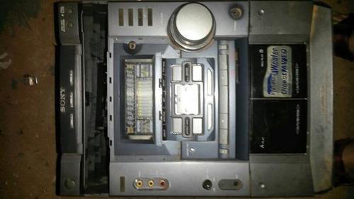 micro system sony mhc-dx50(hcd-dx50,para tirar peças)