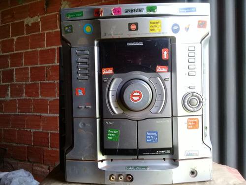 micro system sony mhc-rg111 (com defeito pra tirar peças)