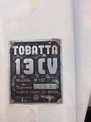 micro trator tobata - 13cv
