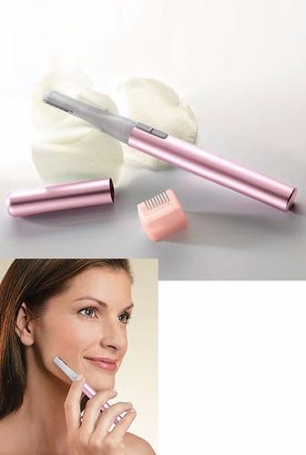 micro trimm groomer depiladora elimina vello facial femenino