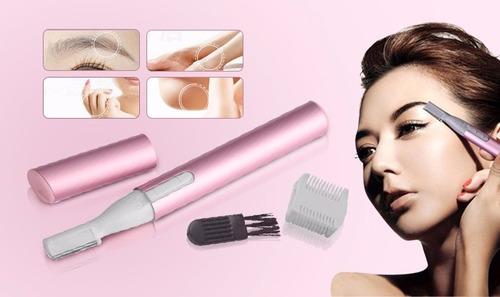 micro trimm groomer rasuradora dama elimina el vello facial