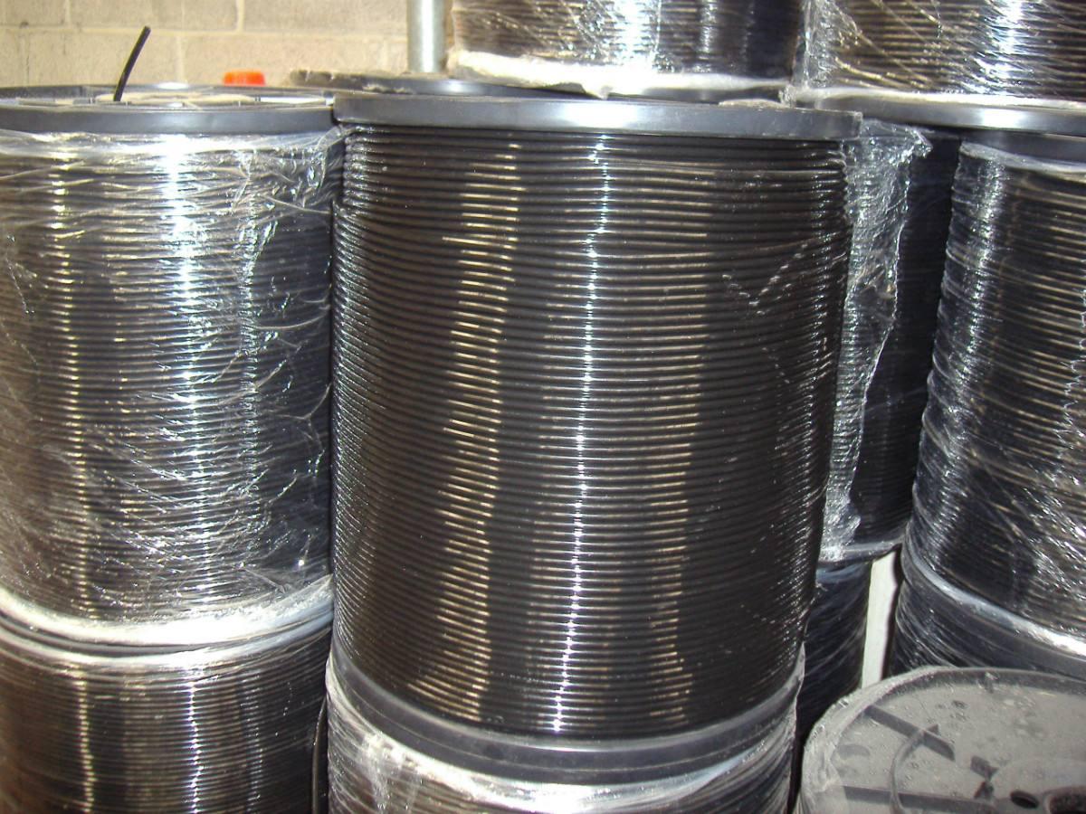 Micro tubing de pvc virgen para riego por goteo - Manguera para riego por goteo ...