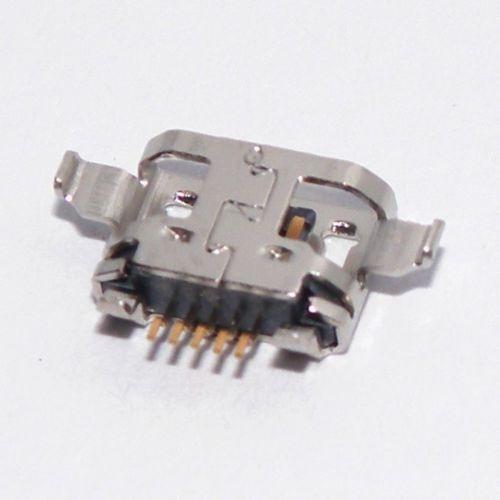 micro usb de carga puerto cargador conector para lenovo fich