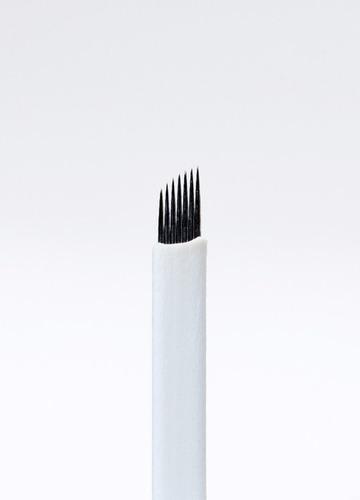 microblading 7 o 12 pin blade, micropigmentacion